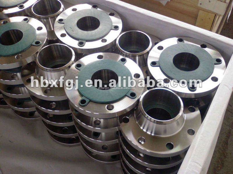 EN1092 -BS4504 forged cs and ss WELDING NECK flanges