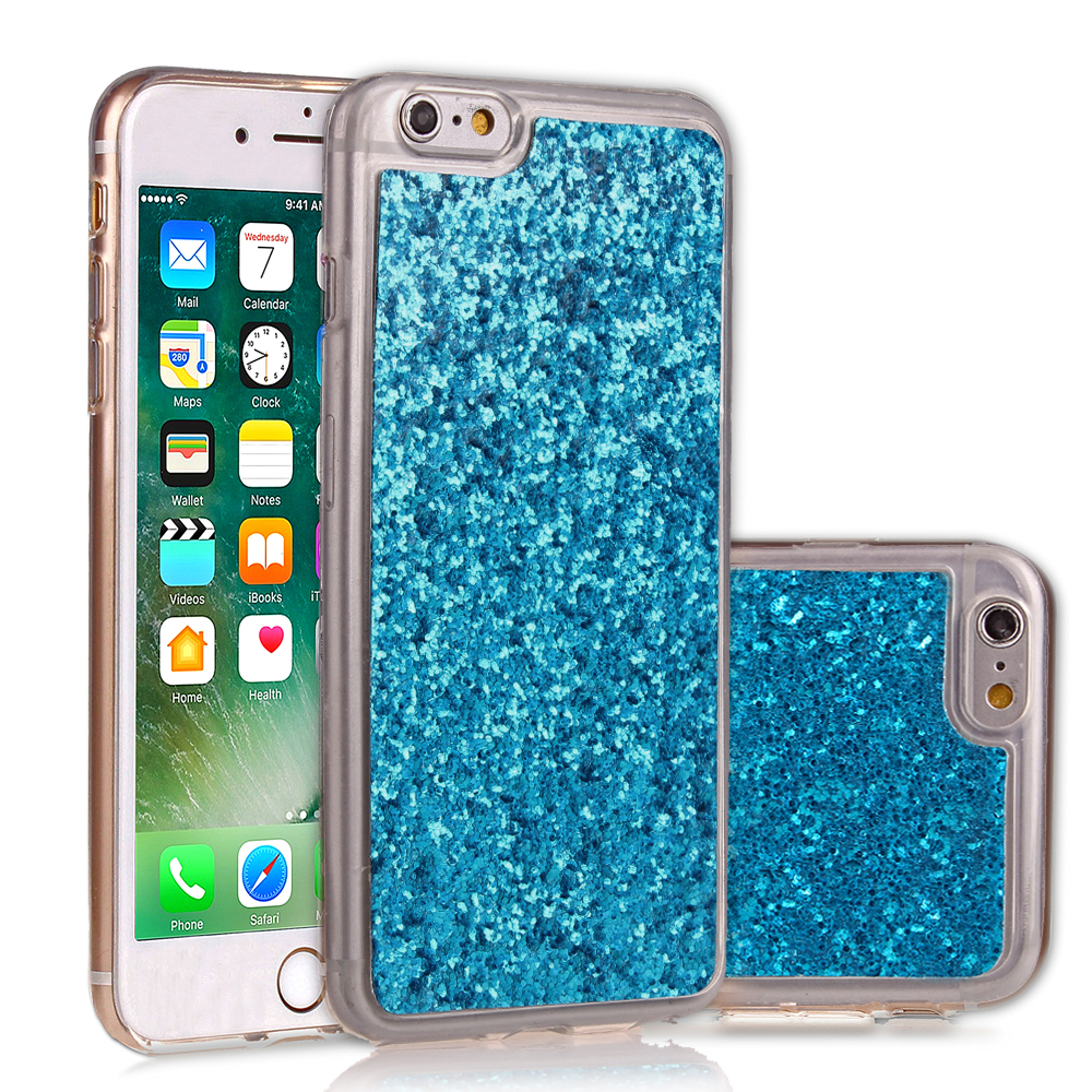 Luxury Bling Glitter Phone Case For iPhone 6 6 Plus Soft Gel TPU Shining Sparkle Crystal Silicone Case