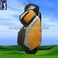 China Onoff PU Leather Golf Cart Bag Manufacturer