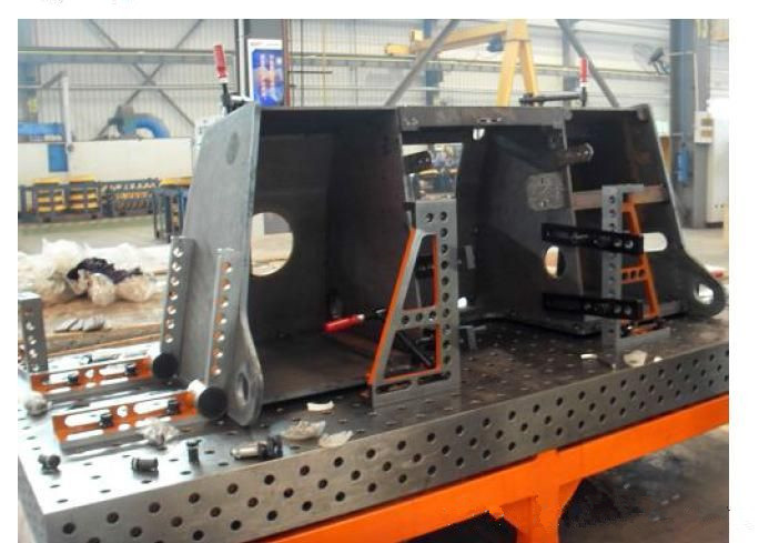 Cheap and high quality 3D cast iron and steel welding table