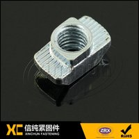 T slot nut Aluminum industry accessories