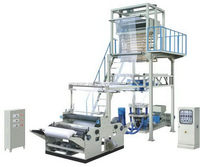 Top quality most popular 2 colors plastic film blowing machine