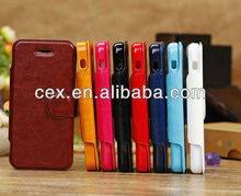 For iPhone 5C Luxury High Quality Classical Vintage Fashion Leather Cover Case