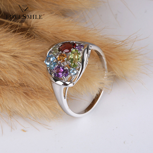Silver rings jewelry gold plated ladies jewelry finger ring