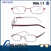 2016 China Wholesale Optical Eyeglasses Frame Hot Sell Women Metal Fancy Glasses Frames Flexible Eyeglasses Frame