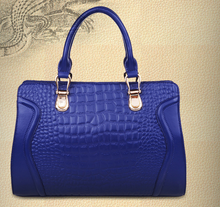 2015 alibaba china dongguan guangzhou christmas genuine crocodile leather handbag