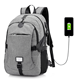 School Hiking Laptop Backpack Bag with USB for promotion