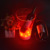 color changing glowing ice bucket plastic led illuminated ice bucket for party cooler