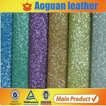 hot selling very shining glitter fabric for shoe and wall papers A1501