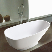 Cheap home personal glass whirlpool teuco bathtubs/solid surface bathtub