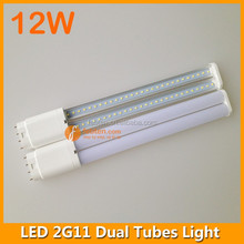 12w 4 pins pl lamp 2835 smd 2g11 led tube fpl replacement 327mm