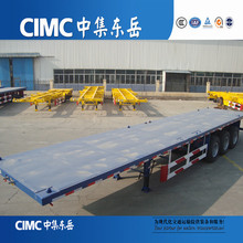CIMC 3 axle flatbed container trailer frames for sale