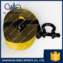 [WL STRAP]car tools heavy duty 4wd recovery tow strap