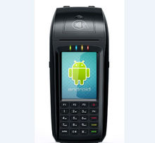 handheld POS machine, portable POS terminal, credit card terminal cash register payment with VOS(MPOS)