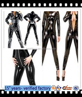 walson latex catsuit leather catsuit pvc catsuit men