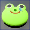 Fashion frog head pvc key cover/china wholesale cute pvc key cover