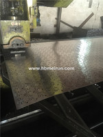 304 stainless steel sheet perforated metal mesh making machine manufacture
