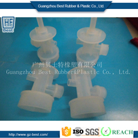 Best PFA PPE PVC PEI PEEK POM PPS injection molding machine spare parts