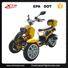 Gas adult stand up EPA approved adult 50cc trike scooter