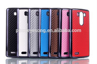 Wholesale for LG G3 Mobile Phone Case/carbon fiber Case Cover for LG G3 D850 LS990