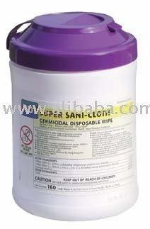 Sani-Cloth Germicidal Wipes-Purple Top