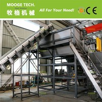 PE PP Bags HDPE LDPE Film plastic washing recycling production line