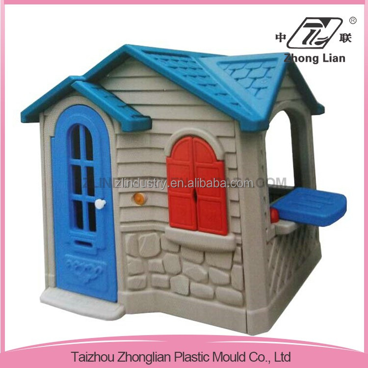 New design colorful PP cheap kids playhouse