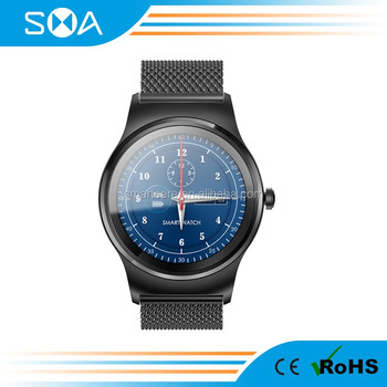 New Arrival KW88 1.3inch IPS Round Smart Watch 2017.Smart watch phone with Touch Screen