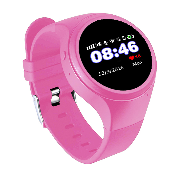 2017 new product wifi smart watch phone gps tracker kids children watch eldly sos wrist watch for android and ios