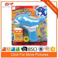 Wholesale dolphin bubble shooter gun toy for kids