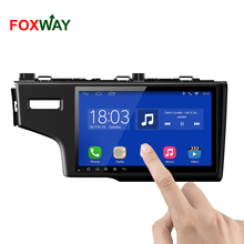 FOXWAY factory android car dvd player for Honda Fit with audio radio multimedia gps navigation system
