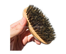 Wood Men Mustache Beard Brush