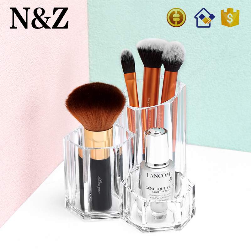 NZ <strong>C118</strong> Wholesale 2017 Modern Acrylic Clear Makeup Brush Holder