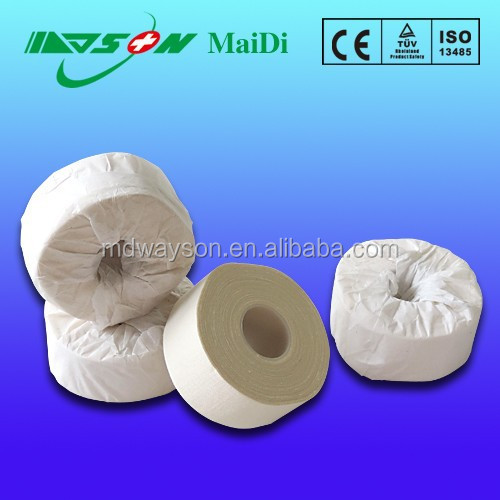 Medical/surgical latex free zinc oxide adhesive plaster