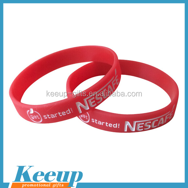 Popular Rubber Event Amazing Event Promotional Customized Silicone Wristbands