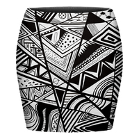 whole sale 3D printing 100% polyester mini skirt with factory price