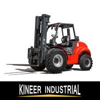 Hotsale 2.5TON 4WD Diesel Rough Terrain Forklift Trucks With Euro3 Engine