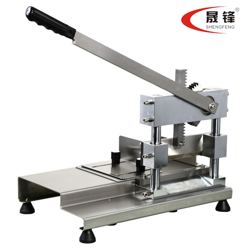 Sheng Feng guillotine cut bone machine cut large bone trotters ribs Bone Saw stainless steel lever principle track structure