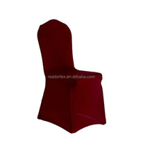 cheap wedding elastic chair cover - burgundy