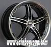 18inch SUV / Light truck /Jeep Alloy wheel / black car rims