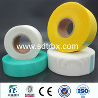 alkali resistant fiberglass sticky tape for building
