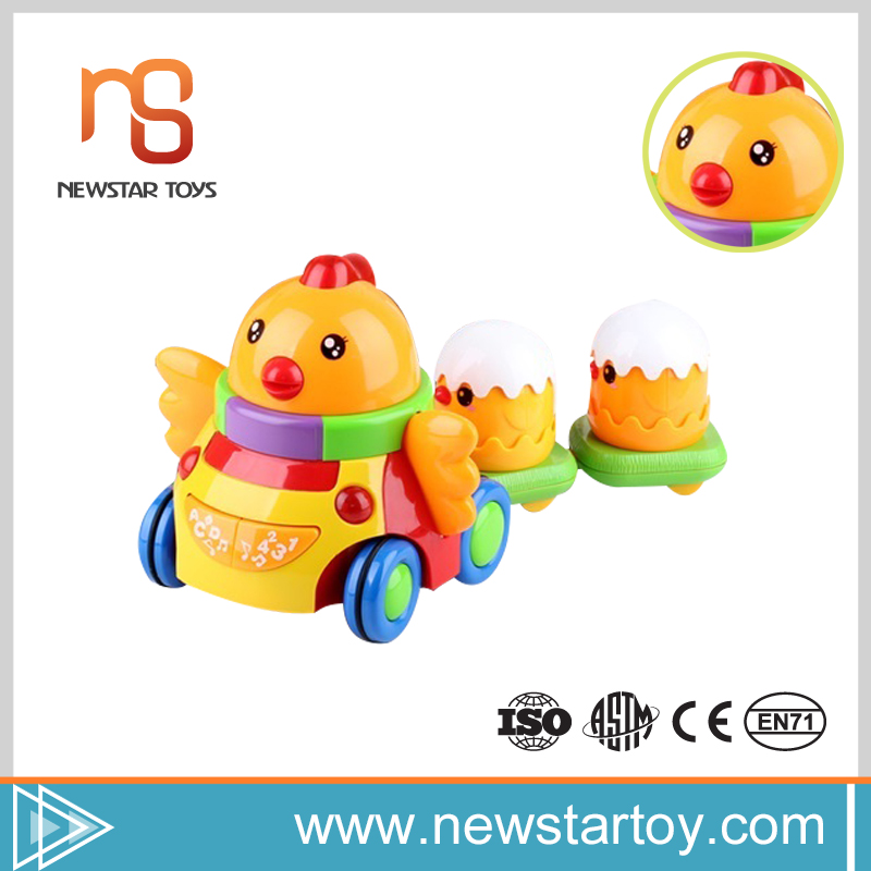 Shantou new baby products 2016 small plastic toy chicken for sale