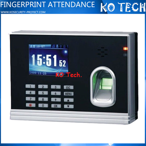 different country used fingerprint reader fingerprint scanner fingerprint sensor time clock (KO-M8)