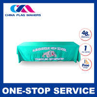 coral coated cheap advertising events usage table cloth