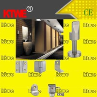factory glass toilet cubicle hardware