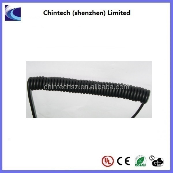 1-37 Core Electrical Coil Cables,coiled ethernet spiral cable
