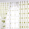 Sunscreen curtain fabric the finished curtain sun shading easy clean
