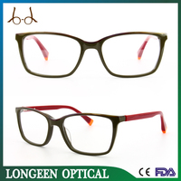 G3582-C2044 new design eyewear acetate Frame eyeglasses online