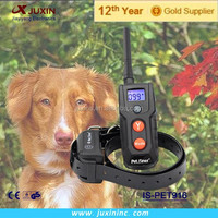 Remote control waterproof dog training shock collar beeper collar