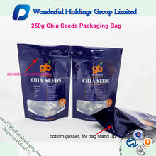 Ziplock Seed Packaging Bags/Sunflower Seeds Packaging Bags/Agricultural Seed Packaging Bag